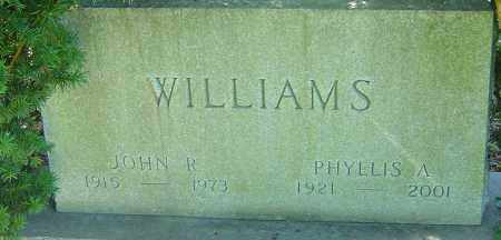 WILLIAMS, JOHN R - Franklin County, Ohio | JOHN R WILLIAMS - Ohio Gravestone Photos
