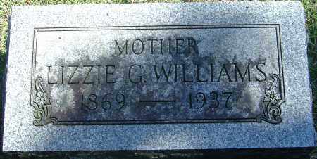 WILLIAMS, LIZZIE GENEVA - Franklin County, Ohio | LIZZIE GENEVA WILLIAMS - Ohio Gravestone Photos