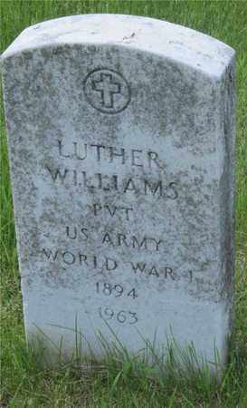 WILLIAMS, LUTHER - Franklin County, Ohio | LUTHER WILLIAMS - Ohio Gravestone Photos