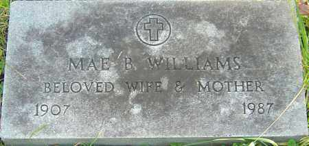 WILLIAMS, MAE B - Franklin County, Ohio | MAE B WILLIAMS - Ohio Gravestone Photos