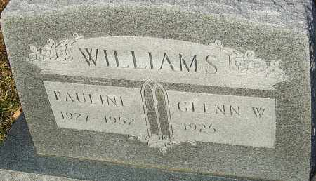 CONKLIN WILLIAMS, PAULINE - Franklin County, Ohio | PAULINE CONKLIN WILLIAMS - Ohio Gravestone Photos