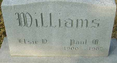 WILLIAMS, PAUL M - Franklin County, Ohio | PAUL M WILLIAMS - Ohio Gravestone Photos