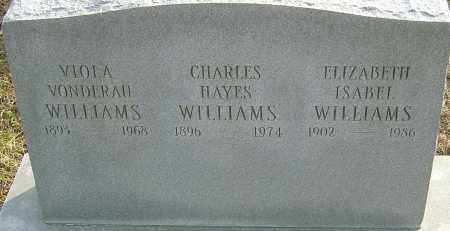 WILLIAMS, CHARLES HAYES - Franklin County, Ohio | CHARLES HAYES WILLIAMS - Ohio Gravestone Photos