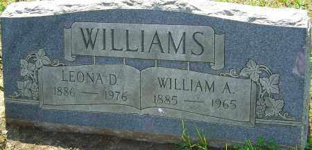 WILLIAMS, LEONA D - Franklin County, Ohio | LEONA D WILLIAMS - Ohio Gravestone Photos