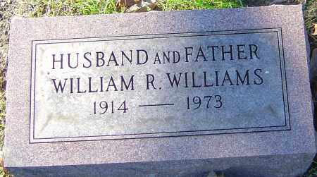 WILLIAMS, WILLIAM R - Franklin County, Ohio | WILLIAM R WILLIAMS - Ohio Gravestone Photos
