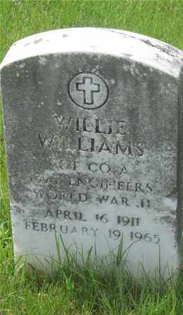 WILLIAMS, WILLIE - Franklin County, Ohio | WILLIE WILLIAMS - Ohio Gravestone Photos