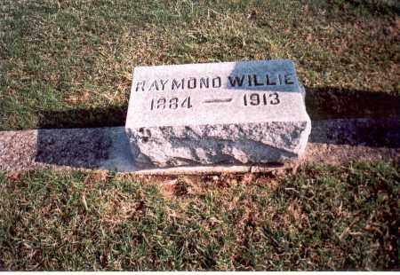 WILLIE, RAYMOND - Franklin County, Ohio | RAYMOND WILLIE - Ohio Gravestone Photos