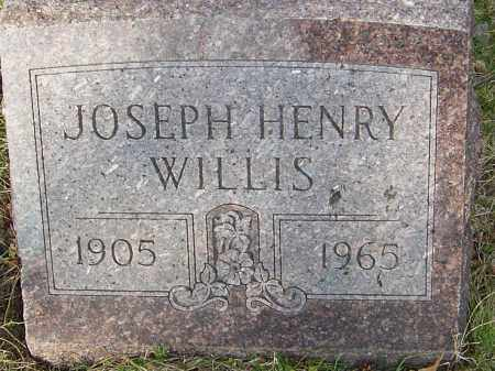 WILLIS, JOSEPH HENRY - Franklin County, Ohio | JOSEPH HENRY WILLIS - Ohio Gravestone Photos