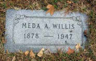 WILLIS, MEDA A. - Franklin County, Ohio | MEDA A. WILLIS - Ohio Gravestone Photos