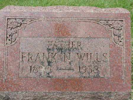 WILLS, FRANK N. - Franklin County, Ohio | FRANK N. WILLS - Ohio Gravestone Photos