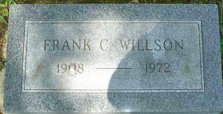 WILLSON, FRANK C - Franklin County, Ohio | FRANK C WILLSON - Ohio Gravestone Photos