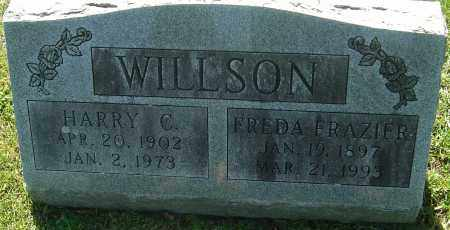 FRAZIER WILLSON, FREDA - Franklin County, Ohio | FREDA FRAZIER WILLSON - Ohio Gravestone Photos