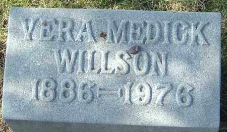 MEDICK WILLSON, VERA - Franklin County, Ohio | VERA MEDICK WILLSON - Ohio Gravestone Photos