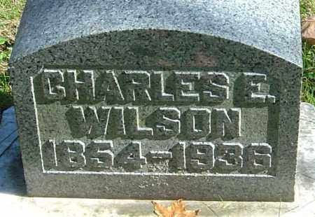 WILSON, CHARLES EDWARD - Franklin County, Ohio | CHARLES EDWARD WILSON - Ohio Gravestone Photos