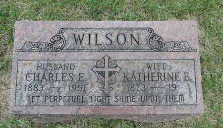 WILSON, KATHERINE E. - Franklin County, Ohio | KATHERINE E. WILSON - Ohio Gravestone Photos