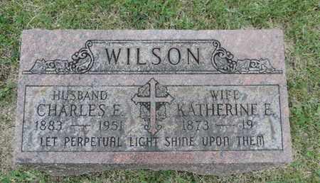 WILSON, CHARLES E - Franklin County, Ohio | CHARLES E WILSON - Ohio Gravestone Photos