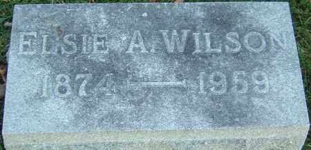 SNOUFFER WILSON, ELSIE A - Franklin County, Ohio | ELSIE A SNOUFFER WILSON - Ohio Gravestone Photos