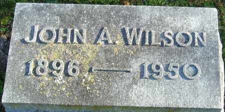 WILSON, JOHN ADAMS - Franklin County, Ohio | JOHN ADAMS WILSON - Ohio Gravestone Photos