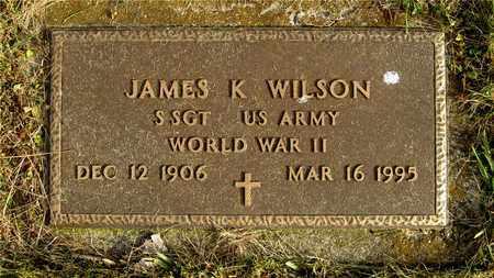 WILSON, JAMES K. - Franklin County, Ohio   JAMES K. WILSON - Ohio Gravestone Photos