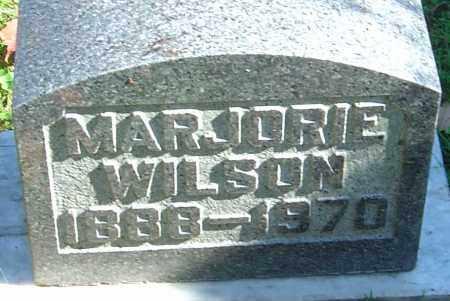 WILSON, MARJORIE - Franklin County, Ohio | MARJORIE WILSON - Ohio Gravestone Photos