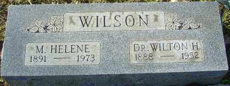 WILSON, WILTON H - Franklin County, Ohio | WILTON H WILSON - Ohio Gravestone Photos