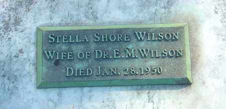 SHORE WILSON, STELLA - Franklin County, Ohio | STELLA SHORE WILSON - Ohio Gravestone Photos