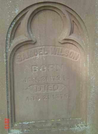 WILSON, SAMUEL - Franklin County, Ohio | SAMUEL WILSON - Ohio Gravestone Photos