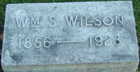WILSON, WILLIAM S - Franklin County, Ohio | WILLIAM S WILSON - Ohio Gravestone Photos