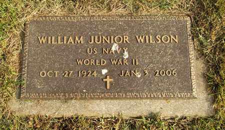 WILSON, WILLIAM JUNIOR - Franklin County, Ohio | WILLIAM JUNIOR WILSON - Ohio Gravestone Photos