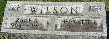 WILSON, HARRIETTE R - Franklin County, Ohio | HARRIETTE R WILSON - Ohio Gravestone Photos