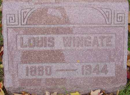 WINGATE, LOUIS - Franklin County, Ohio | LOUIS WINGATE - Ohio Gravestone Photos
