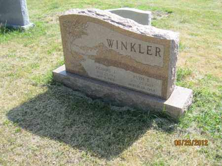 WINKLER, RICHARD J - Franklin County, Ohio | RICHARD J WINKLER - Ohio Gravestone Photos