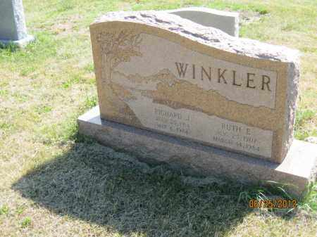 SCHAFFRAN WINKLER, RUTH E - Franklin County, Ohio | RUTH E SCHAFFRAN WINKLER - Ohio Gravestone Photos
