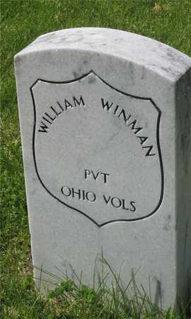 WINMAN, WILLIAM - Franklin County, Ohio | WILLIAM WINMAN - Ohio Gravestone Photos