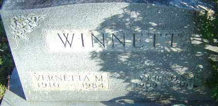 WINNETT, VERNON R - Franklin County, Ohio | VERNON R WINNETT - Ohio Gravestone Photos