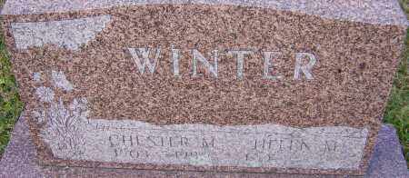 WINTER, CHESTER - Franklin County, Ohio | CHESTER WINTER - Ohio Gravestone Photos