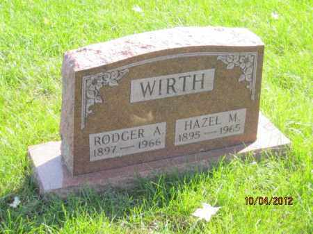 SCURLOCK WIRTH, HAZEL MARY - Franklin County, Ohio | HAZEL MARY SCURLOCK WIRTH - Ohio Gravestone Photos