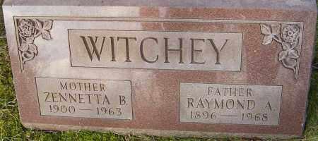 WITCHEY, RAYMOND A - Franklin County, Ohio | RAYMOND A WITCHEY - Ohio Gravestone Photos