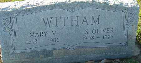 WITHAM, MARY V - Franklin County, Ohio | MARY V WITHAM - Ohio Gravestone Photos