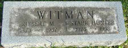 HUNTER WITMAN, STARR - Franklin County, Ohio | STARR HUNTER WITMAN - Ohio Gravestone Photos