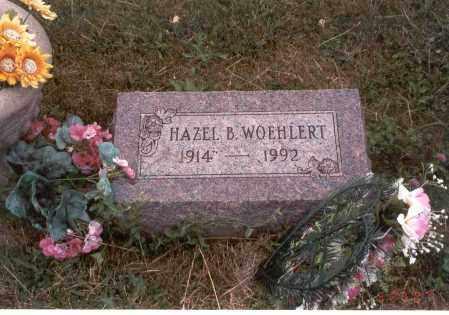 WOEHLERT, HAZEL B. - Franklin County, Ohio | HAZEL B. WOEHLERT - Ohio Gravestone Photos