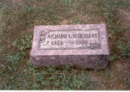 WOEHLERT, RICHARD L. - Franklin County, Ohio | RICHARD L. WOEHLERT - Ohio Gravestone Photos