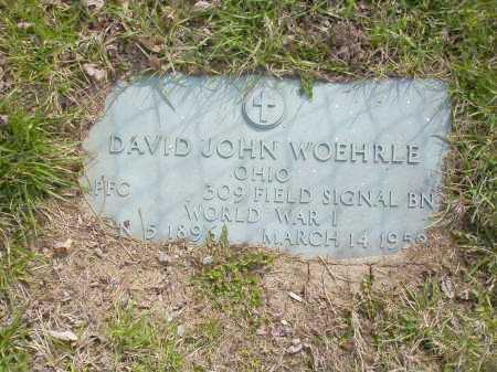 WOEHRLE, DAVID JOHN - Franklin County, Ohio | DAVID JOHN WOEHRLE - Ohio Gravestone Photos