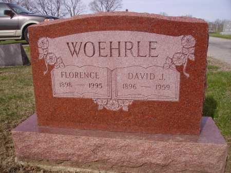 WOEHRLE, FLORENCE - Franklin County, Ohio | FLORENCE WOEHRLE - Ohio Gravestone Photos