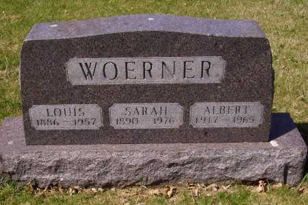 WOERNER, LOUIS - Franklin County, Ohio | LOUIS WOERNER - Ohio Gravestone Photos