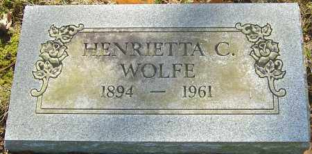 WOLFE, HENRIETTA C - Franklin County, Ohio | HENRIETTA C WOLFE - Ohio Gravestone Photos