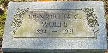 KAHLER WOLFE, HENRIETTA C - Franklin County, Ohio | HENRIETTA C KAHLER WOLFE - Ohio Gravestone Photos
