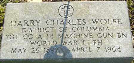 WOLFE, HARRY CHARLES - Franklin County, Ohio | HARRY CHARLES WOLFE - Ohio Gravestone Photos