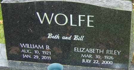 WOLFE, ELIZABETH - Franklin County, Ohio | ELIZABETH WOLFE - Ohio Gravestone Photos