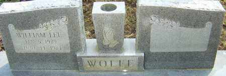 WOLFE, WILLIAM LEE - Franklin County, Ohio | WILLIAM LEE WOLFE - Ohio Gravestone Photos